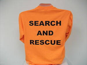 Search-And-Rescue-Long-Sleeve-T-Shirt-Choose-your-Shirt-amp-Print-Colors-sm-xxx