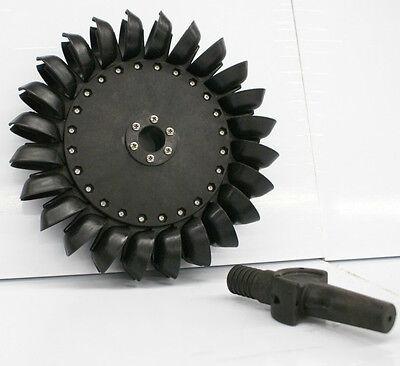 """Gemstone Pelton Water Wheel Turbine 10.625"""" (269.89mm)"""