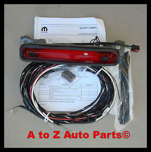 s l300 new 2011 2014 dodge charger rear view back up camera, oem mopar ebay 2012 Ram 1500 Wiring Diagram Schematic at panicattacktreatment.co