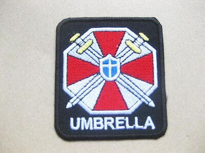 Umbrella Corp Biohazard Resident Evil T-shirt Aufnäher Aufbügler 6.5x7.5 cm