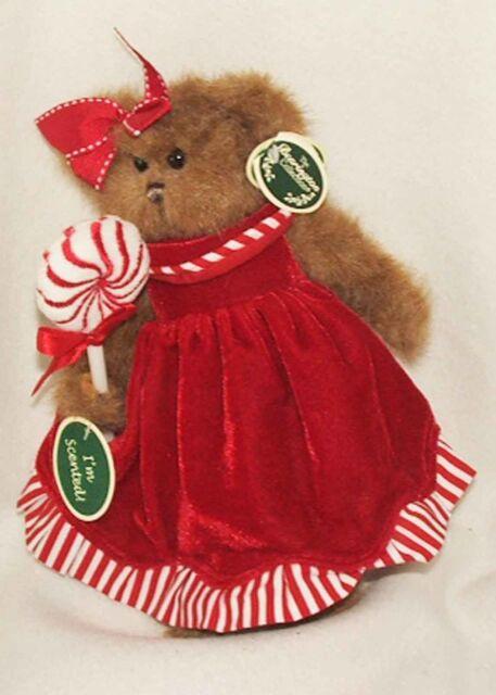 Christmas Bearington Bears - Brandy Candytaker (173063) RETIRED 2010 NEW!