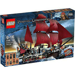LEGO PIRATES OF THE CARIBBEAN QUEEN ANNE'S REVENGE 4195 RETIrosso *REL 2011 *NISB*