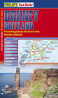 Philip's Red Books Orkney and Shetland: Leisure and Tourist Map by Octopus Publishing Group (Paperback, 2012)