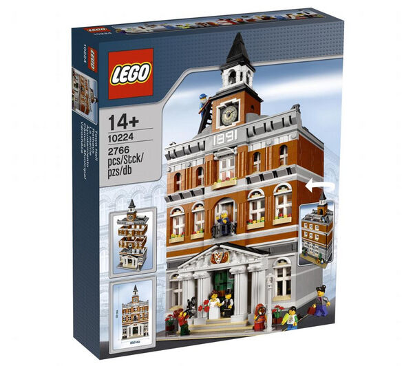 Lego creator    10224 rathaus neu versiegelt