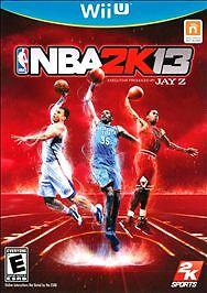 NBA 2K13, (Wii U)