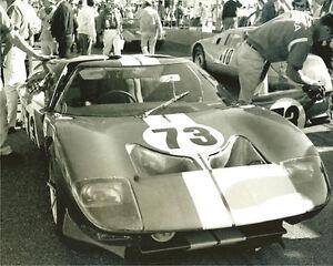 Vintage-8-X-10-1965-Daytona-24-Hour-Ford-GT40-Winner
