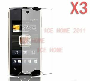 3X-Clear-Ultra-Thin-Screen-Protector-For-Sony-Ericsson-Xperia-Ray-ST18i