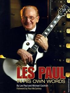 LES-PAUL-039-S-PERSONAL-GIBSON-WHITE-CUSTOM-FROM-THE-COVER-OF-HIS-AUTOBIOGRAPHY