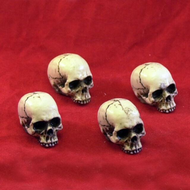 4 Made USA Skull Valve Stem Caps Hot Rat Street Rod Buy American Skeleton #15-VC