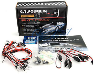 GT-POWER-12-LED-RC-Car-Flashing-Head-Light-Lighting-kit-1-10-BRAKE-HEADLIGHT