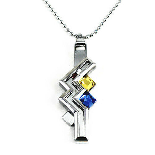 Final Fantasy 13 XIII-2 Cosplay Lightning Pendant With Necklace Chain VIII New