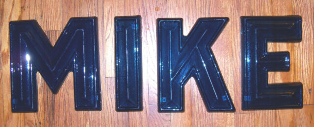 """10"""" Vintage 1950-60's Era Drive In  Movie Theater Marquee Sign Letters 3D"""