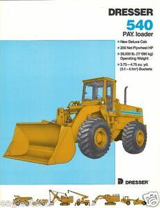 Dresser 540 Manual