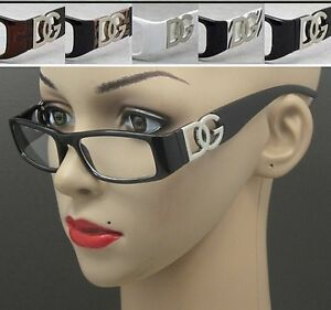 RETRO-TRENDY-DG-Eyewear-Euro-Design-Fashion-Clear-Lens-Glasses-SMART-NERDY