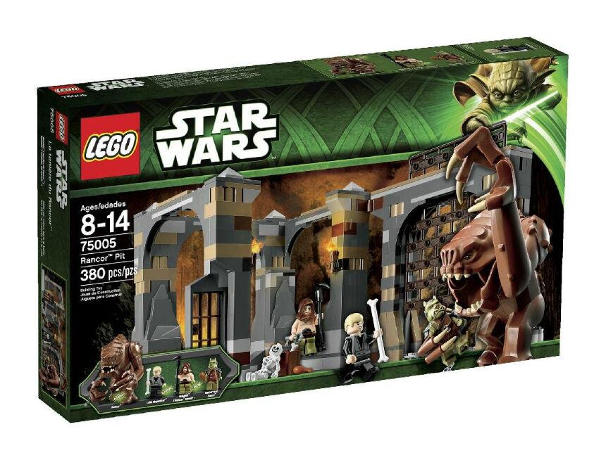 LEGO 75005 Star Wars Jabba's Rancor Pit Brand New Factory Sealed MISB RETIROT