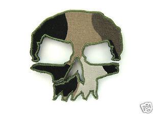 ill-Gear-MONSTER-CAMO-SKULL-Velcro-Patch-Tactical-Apocalypse-Survival-Zombie