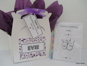 Personalised Childrens Wedding Gift Bags : Home, Furniture & DIY > Wedding Supplies > Wedding Favours