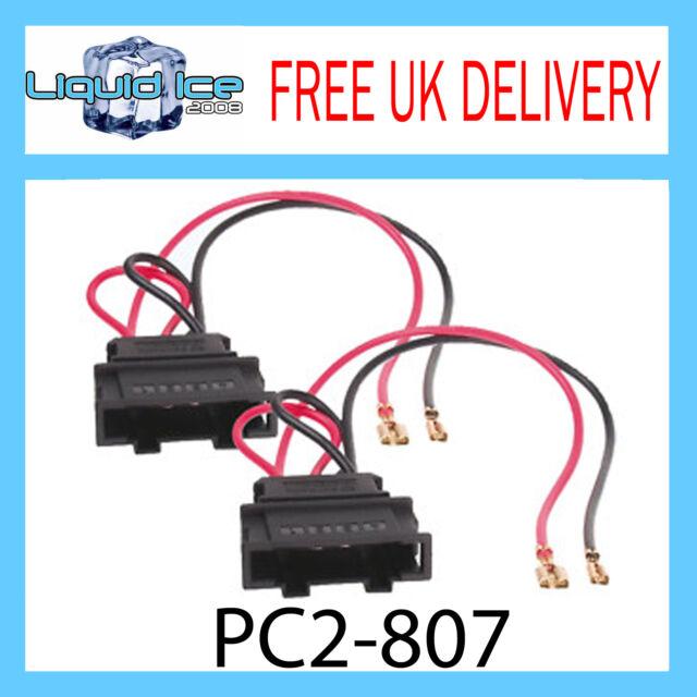 PC2-807 Volkswagen Golf MK4 Polo Speaker Adaptor Lead