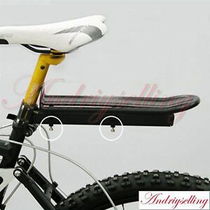 MTB-Cycling-Mountain-Road-Bike-Bicycle-Adjustable-Rear-Rack-Alloy-Fender-Pannier
