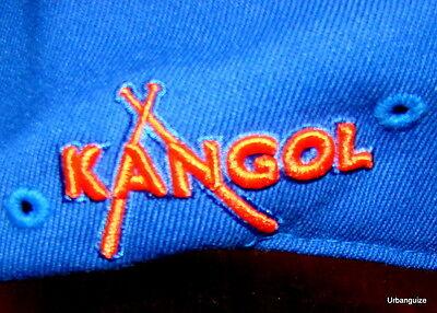 Kangol  Championship Series Flexfit  504  Cap  Team Colors  Blue/Orange