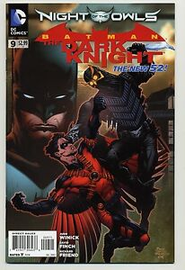 Batman-The-Dark-Knight-9-The-New-52-Night-Of-The-Owls-1st-Print-NM-VF