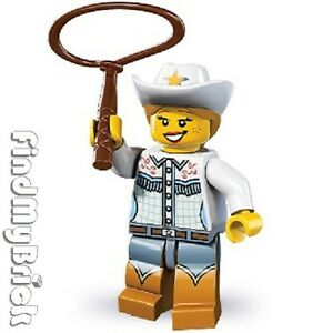NEW-Lego-8833-Minifigure-Series-8-Cowgirl-Brand-NEW-NOT-Sealed-NEW