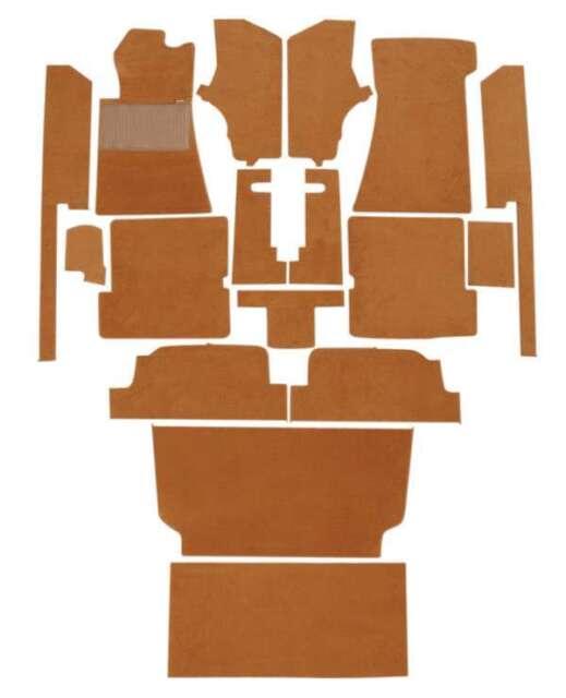 Mercedes SL R107 350SL 450SL Interior Carpet Kit Mats 72-81 Imported Loop Carpet