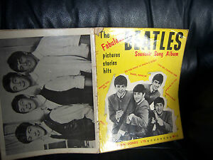 The-Beatles-1963-FIRST-Sheet-Music-SONG-BOOK-1st-Issue-NORTHERN-SONGS