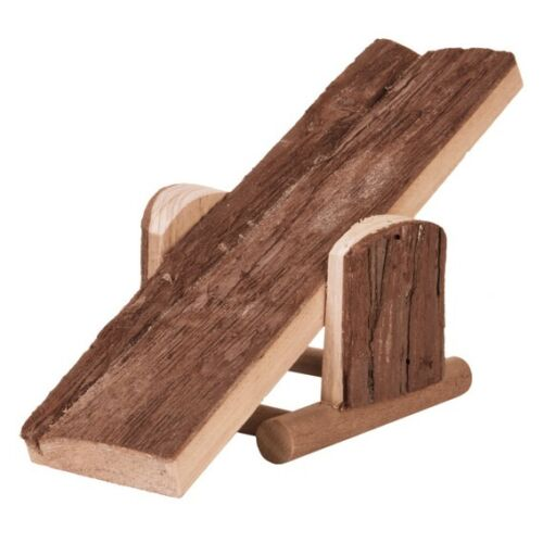 TRIXIE NATURAL LIVING SEE-SAW - TWO SIZES FOR RABBIT OR HAMSTER