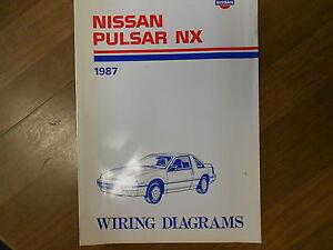 1987 nissan pulsar nx wiring diagram service repair shop manual image is loading 1987 nissan pulsar nx wiring diagram service repair cheapraybanclubmaster Image collections