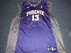 NEW ADIDAS NBA PHOENIX SUNS STEVE NASH ROAD PURPLE JERSEY SIZE 2XL ... 3ab334ecb