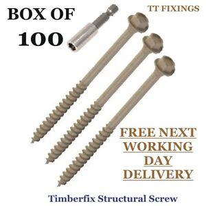 100mm-TIMBERFIX-HEX-HEAD-SLEEPER-DECKING-SCREW-100nr