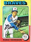 1975 Topps Roric Harrison Atlanta Braves #287 Baseball Card
