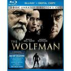 The Wolfman (Blu-ray Disc, 2010, 2-Disc Set, Rated/Unrated Versions; Includes Digital Copy)