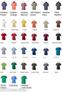Mens-NEW-Size-S-3XL-Short-Sleeve-Pima-Soft-Style-Tee-100-Cotton-T-Shirt-4-5-oz