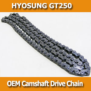 Genuine OEM Camshaft Cam Drive Chain for Hyosung GT250 carby & EFI model