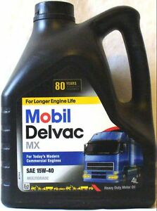 Mobil Delvac Engine Motor Oil 15w40 15 W 40 15w 40 Man
