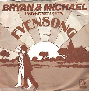 BRYAN-amp-MICHAEL-Evensong-UK-2-Trk-1978-7-034-Single-PS