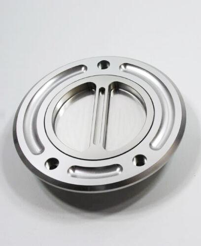 Silver Yamaha Keyless CNC Billet Fuel Petro Gas Cap FJR1300 FJR 1300 YZF R1 R6