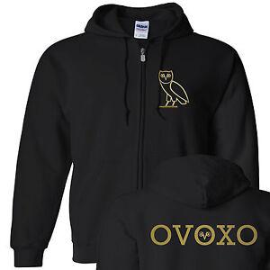 OVOXO Drake October's Very Own Full-Zip Hooded Sweatshirt ...