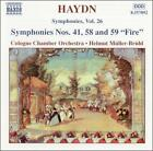 "Franz Joseph Haydn - Haydn: Symphonies Nos. 41, 58 and 59 ""Fire"" (2003)"