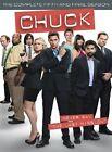 Chuck - Series 5 - Complete (DVD, 2012, 3-Disc Set)