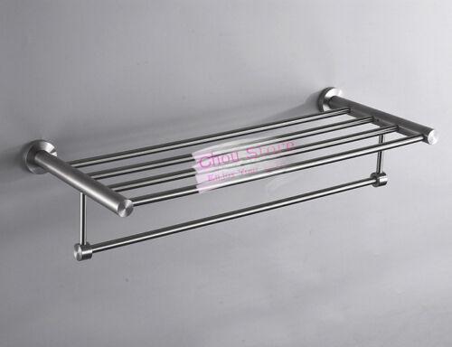 Towel Rail Shelf Bathroom Towel Rack made by 304 Grade Stainless Steel C16