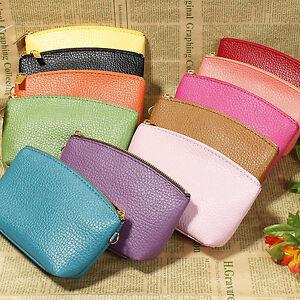 LUXURY-Curve-Zip-Purse-Women-Girl-Wristlet-Wallet-Luxury-Grain-S-leather-Coin