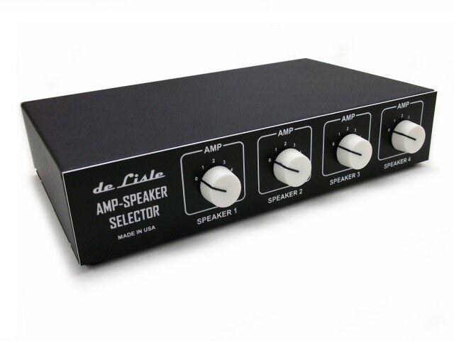 De Lisle Guitar Tube Amp Multi Speaker Cabinet Selector Switch Box Router Ver. 2