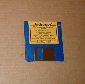 Original-Hacker-II-Disk-by-Activision-for-Apple-IIGS