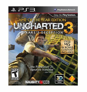 Uncharted 3 Drake S Deception Game Of The Year Edition Playstation