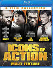 4-Film Icons of Action Set (Blu-ray Disc, 2013, 2-Disc Set)