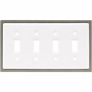 64012-White-Ceramic-Satin-Nickel-Quad-Switch-Cover-Plate