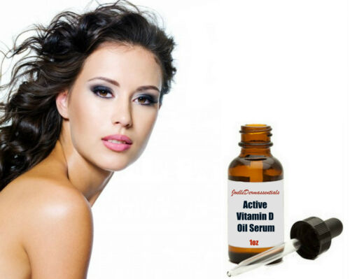 ACTIVE VITAMIN D OIL WRINKLE AGING SKIN REDUCE PORES RETINOL COQ10 SERUM  1oz